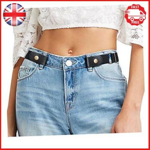 Ladies Waist JasGood No Buckle Invisible Elastic Belt for Women//Men//Young//Old