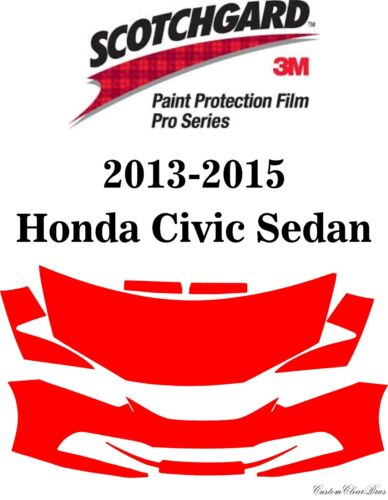 3M Scotchgard Paint Protection Film Pre-Cut 2008-2015 Mitsubishi Lancer Evo