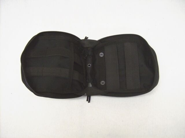 Medic first aid pouch gear Black tactical polyester MOLLE Rothco 9776 new