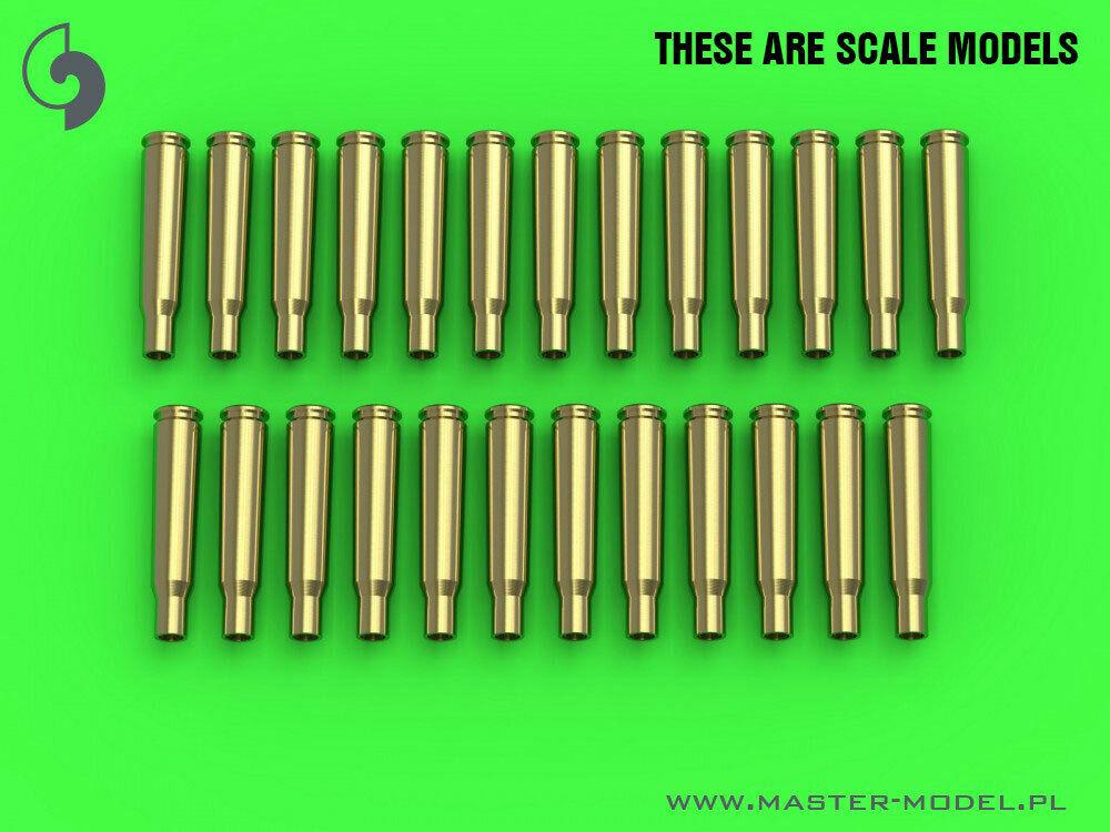 25 pcs Master GM35020 1//35 Browning Cal.50 12.7mm Shells