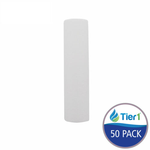 Fits Pentek PD-10-934 Comparable 10 Micron 10x2.5 Sediment Water Filter 50 Pack