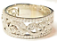 Neil-Lane-Engraved-1ct-Diamond-Pave-8mm-Wide-Gold-Wedding-Anniversary-Band-Ring thumbnail 5