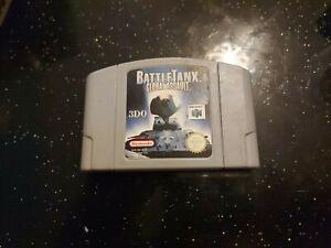 Battle Tanx global Asalto. Nintendo 64 N64 PAL Reino Unido.