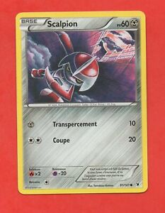 Pokémon N°81/101 - Scalpion - PV60 (623)