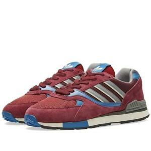 adidas-ORIGINALS-QUESENCE-TRAINERS-MAROON-SHOES-SNEAKERS-RETRO-FOOTBALL-CASUALS