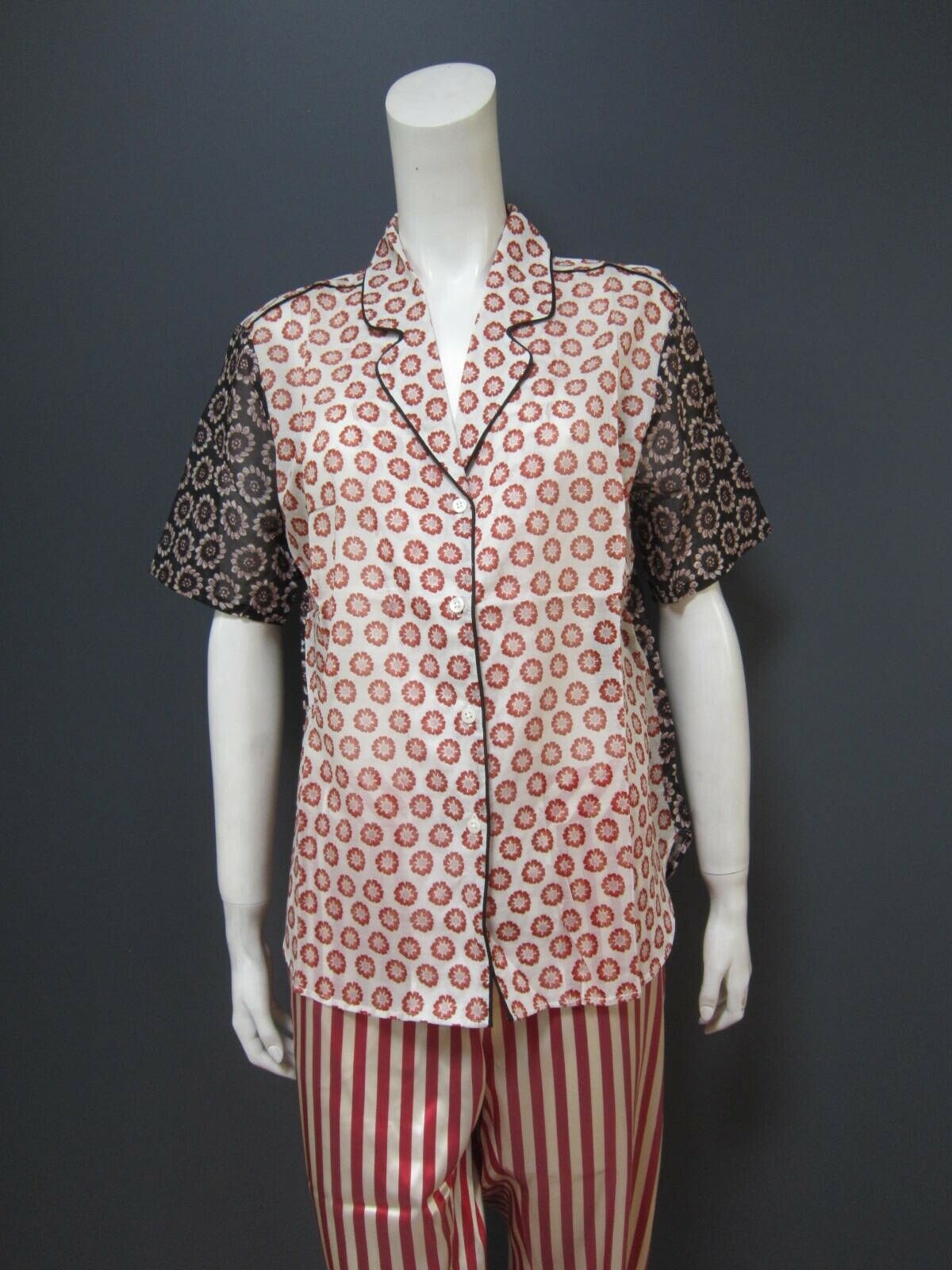 CHLOE STORA  cotton top   blouse NEW, never used, perfect condition  Größe 42