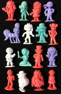 16 Rare Complete Set ✱ FRIBONS ✱ Dunkin Figures RAJÁ  kaugummi figuren 1969