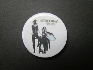 FLEETWOOD-MAC-rumours-LOGO-25MM-BUTTON-BADGE-free-uk-postage