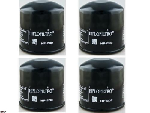4 Pack Oil Filter Honda CBR400,Nighthawk,Shadow,Kawasaki EX400//450//500,Vulcan