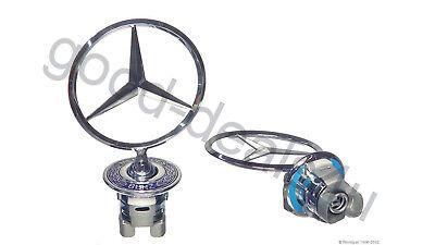 W203 W210 W211 W202 W208 W220 Mercedes emblem badge front W124