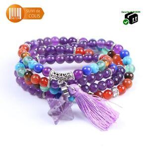 Bracelet-Mala-Tibetain-en-Amethyste-108-perles-70-cm-environ-Chapelet-Meditation
