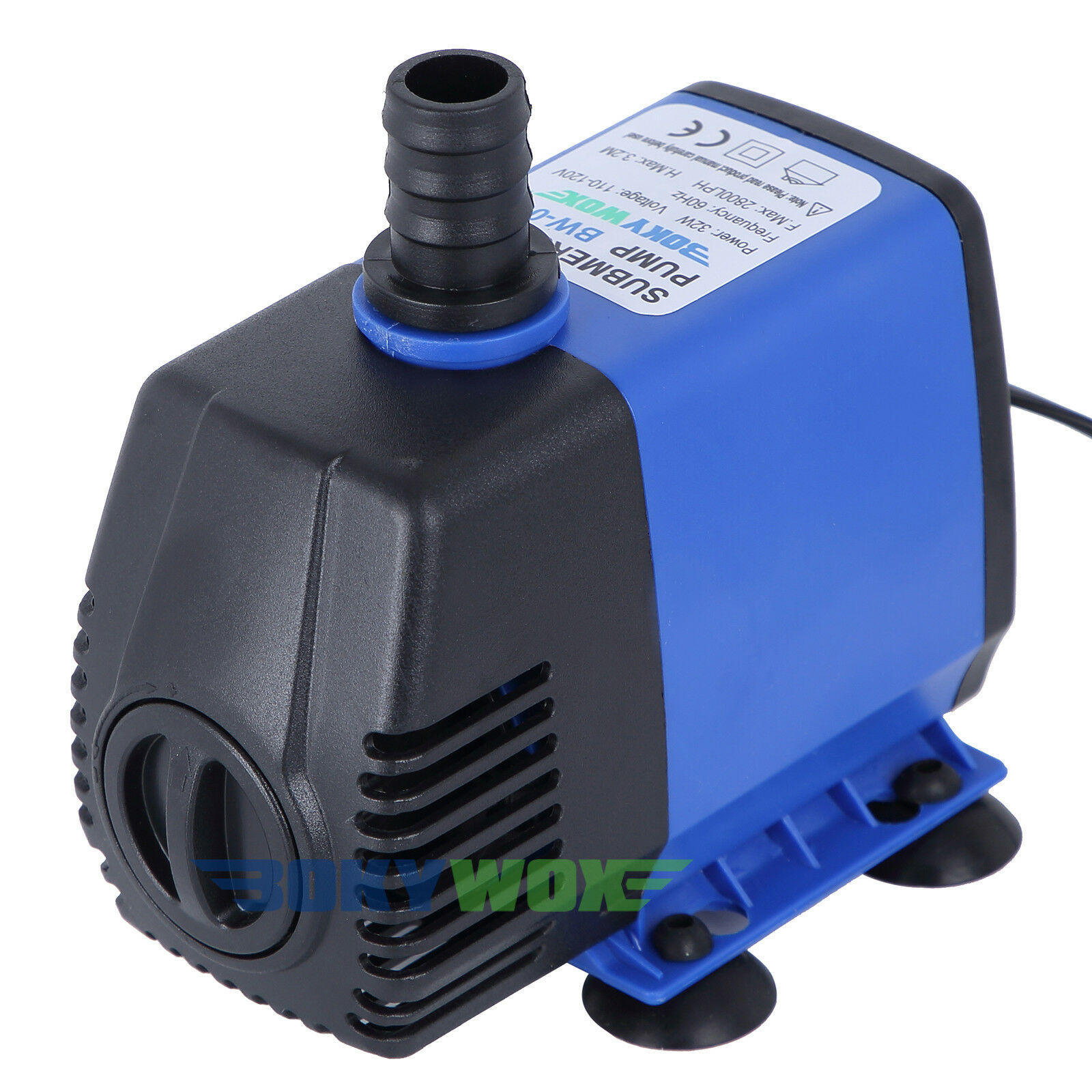 Submersible Water Pump 110V Fish Tank Pond Fountain Hydroponic 32W,792.5GPH