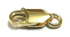 KAEDESIGNS-18ct-9ct-Yellow-or-Rose-or-White-Gold-or-SS-Parrot-Clasp-all-sizes