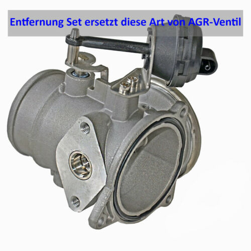 AGR Ventil Delete Entfernung Set für VW Transporter T4 2.5 TDI AXL AXG 18