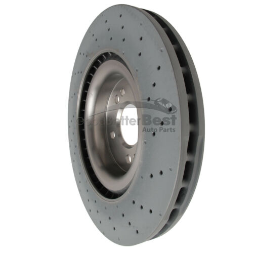 One New Brembo Disc Brake Rotor Front 09A95821 for Mercedes MB