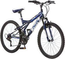 Pacific Evolution 24 Inch Boy's Mountain Bike Linear Pull Brakes 18 Speeds Black