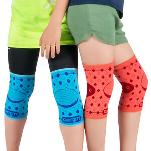 049048dabf Image is loading 2PC-Kuangmi-Kid-Knee-Compression-Sleeves-Elastic-Support-