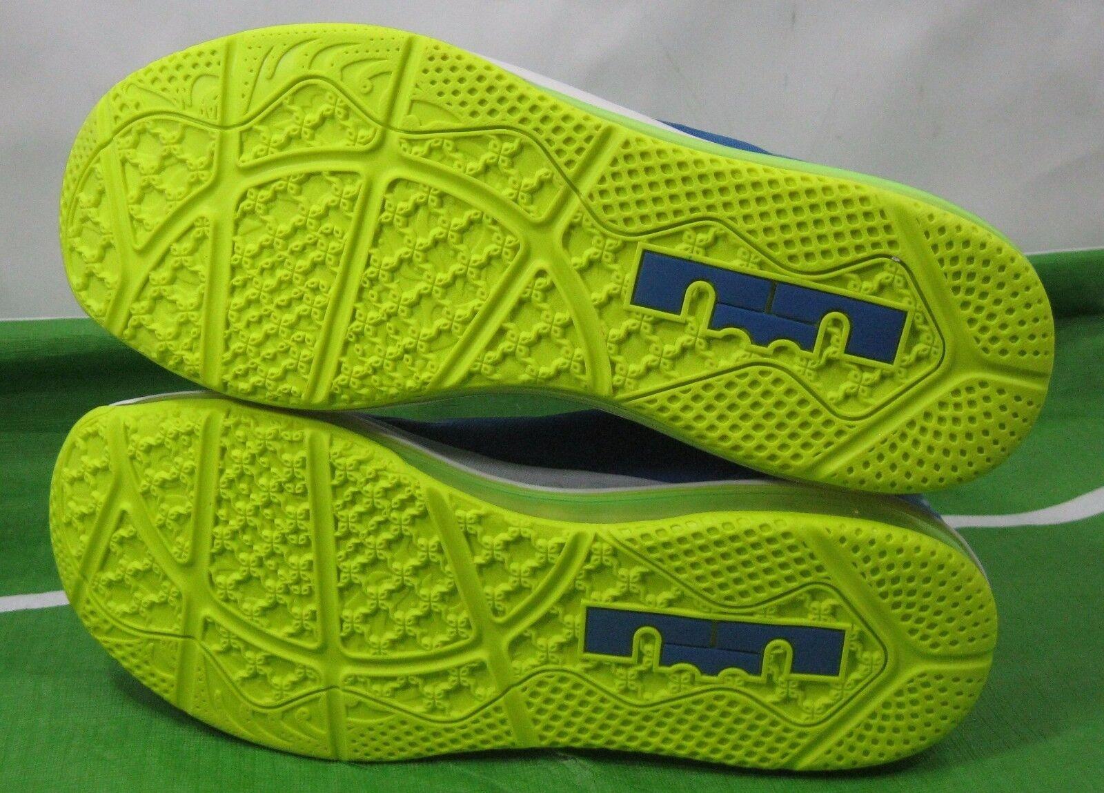 Nike Air Max Lebron Xi Low Sprite Hyper Hyper Hyper Cobalt Volt Blau 642849 471 Größe 11.5 67a2bd