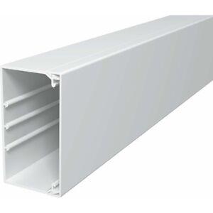 OBO-Bettermann-WDK60110RW-WDK-Kabelkanal-PVC-reinweiss-60x110x2000mm