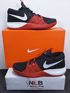 4dd30f4e2f8 Nike Zoom Assersion 917505-006 Black White Gym Red Men s Size 12