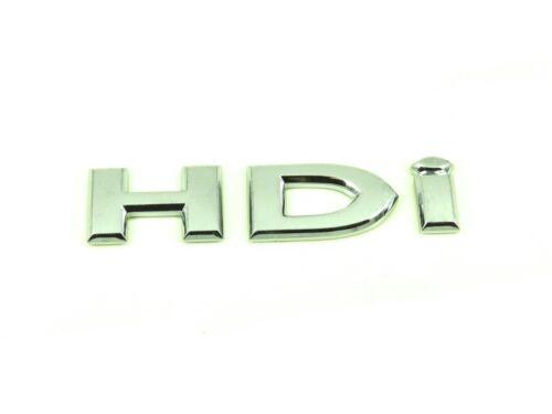 Genuine New CITROEN HDI badge coffre arrière Emblème Pour C5 Mk1 2001-2005 2.0 2.2