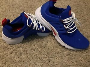 1dcbfc5cb7 Nike Air Presto Essential Mens Shoes Size 11 Bright Blue White-Red ...