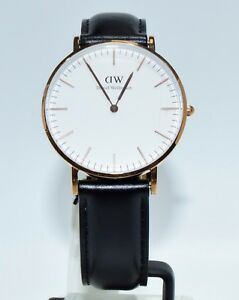 Gold About Wellington Daniel 36mm Rose Tone Watch Details 0508dw nkw8O0PX