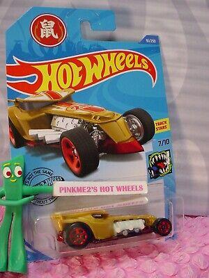 Gold Ratical Racer #91 2020 Hot Wheels Case P WB5