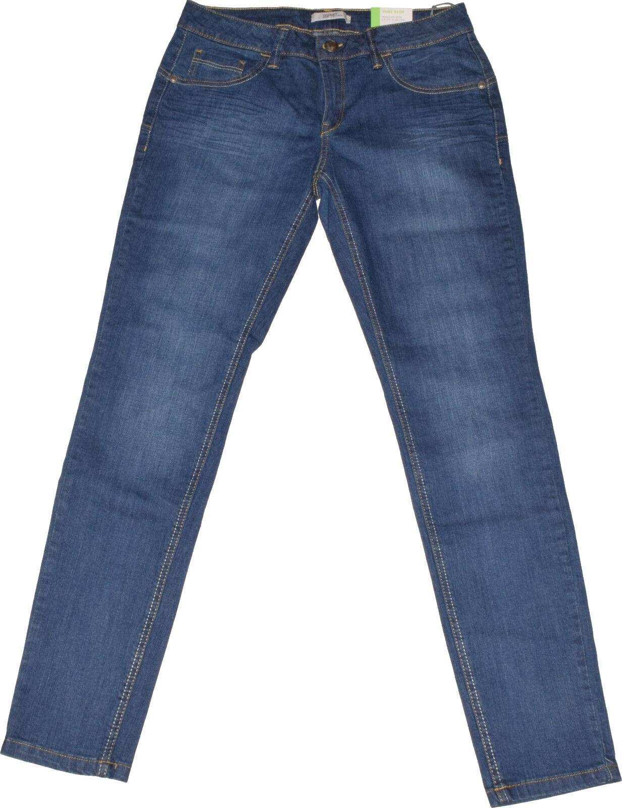 Esprit Skinny Jeans  W31 L32  Stretch  Esxtra Slim Leg  Used Look  NEU