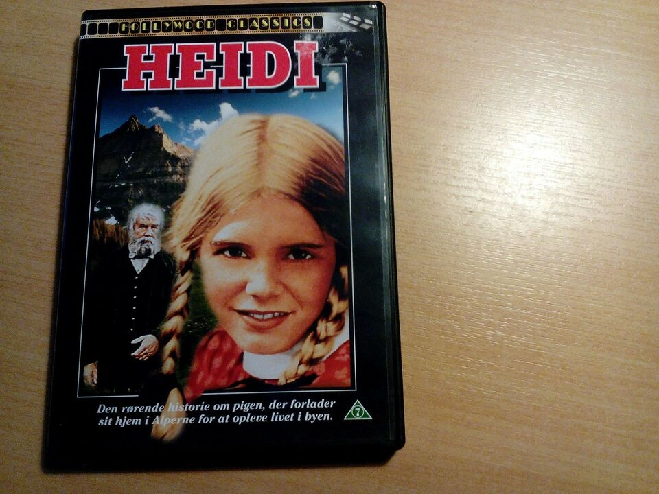 Heidi, DVD, familiefilm