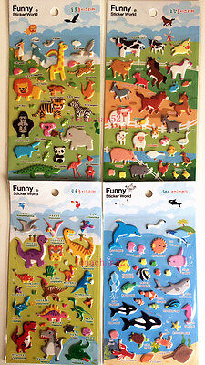 45X Fun Planet Stickers Sealing Diary Label DIY Travel Sticker Scrapbooking New
