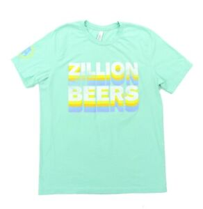 White, Small Barstool Sports Zillion Beers Can Tee