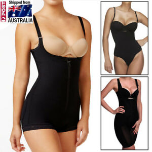 ba995f7c90 Image is loading Womens-Body-Shaper-Waist-Cincher-Underbust-Corset-Bodysuit-