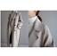 Womens-Winter-Wool-Blend-Lapel-Collar-Trench-Coat-Belted-Oversize-Jacket-Outwear thumbnail 10