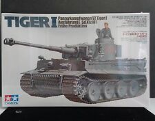 Tamiya 1/35 Tiger I Early Production 35216 Panzer VI with Commander, SEALED