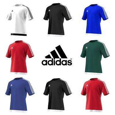 ADIDAS Estro Homme Training T Shirt Football ClimaLite Haut En Jersey Gym Tee Sport | eBay