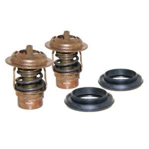NIB Mercury 125-135-140-150-175-200-225 Thermostat-Seal 2 KIT 75692Q2 143F Degre