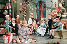 Thunderbirds 11x17 Mini Poster Tracy family at Christmas Tintin Lady Penelope