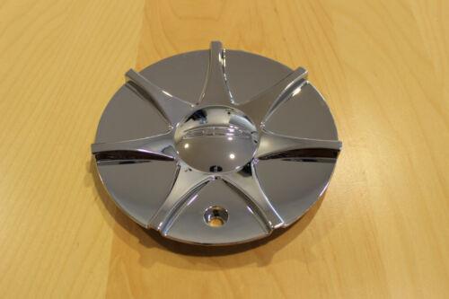 ** DIP D15 Libra Chrome Wheel Rim Center Cap C10D15-CAP ZY C10D15