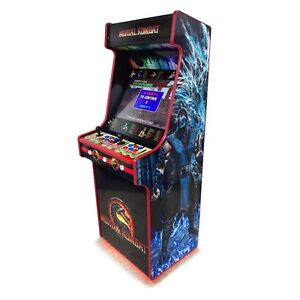 flat pack classic upright arcade machine cabinet kit with artwork rh ebay co uk mame arcade cabinet kit mame arcade cabinet kit uk