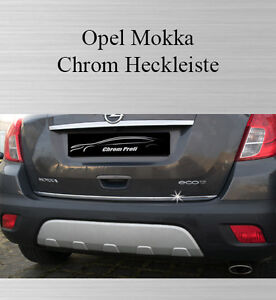 opel mokka 3m chrom leiste zierleiste heckleiste. Black Bedroom Furniture Sets. Home Design Ideas