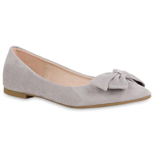 Damen Abiball Ballerinas Spitze Slippers Business Slip Ons 821067 Schuhe