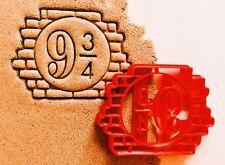 """Сookie cutter """"Platform 9 3/4"""" Harry Potter cookiecutter cookies custom shape"""