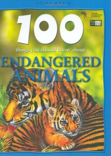 (Very Good)1842368397 Endangered Animals (100 Things You Should Know About...),P