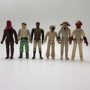 Vintage-Star-Wars-Action-Figures-Lot-of-6-1977-1983-Original-Trilogy