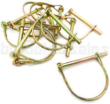 """(10) PTO 5/16"""" Round Safety Pins Camper Awning Trailer Hitch Pin 3"""" Long"""