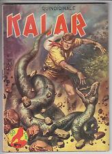 KALAR  n.   21  ed. Dardo 1965  -  ottimo+