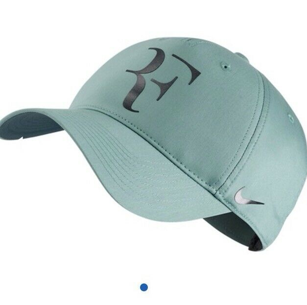 New Nike RF Roger Federer Hat Cap Black Tennis  Dri Fit 371202-011