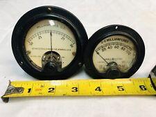 Vintage General Electric Dw Weston 301 D C Milliamperes Lot Of 2