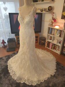 Stunning-Lace-034-Venita-034-Maggie-Sottero-Wedding-Dress-Size-12-BRAND-NEW
